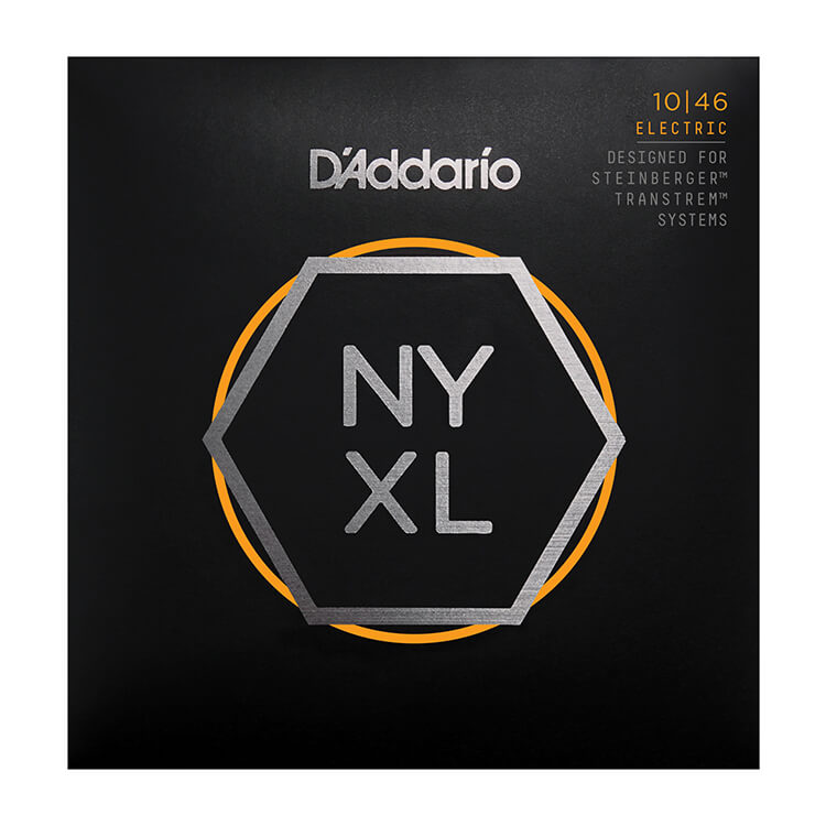 D'Addario NYXL Nickel Wound Guitar String Set Double Ball End 10-46 Light NYXLS1046