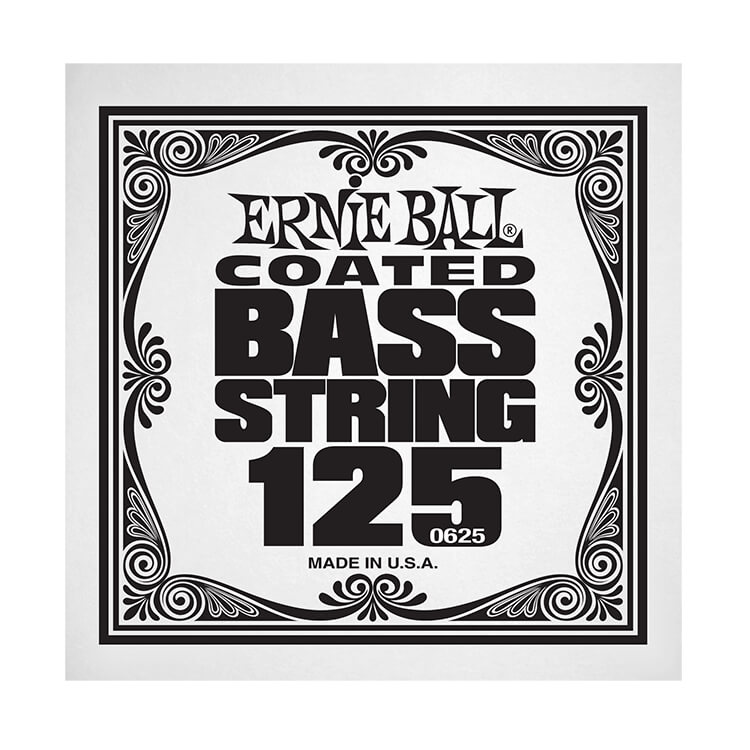 Ernie Ball Coated Nickel Wound Electric Bass Single String - Long Scale .125