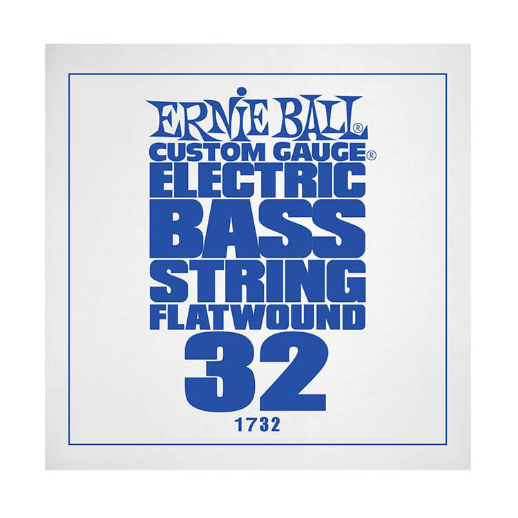Ernie Ball Flatwound Electric Bass Single String - Long Scale .032