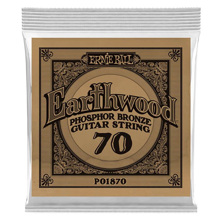 ernie ball earthwood phosphor bronze acoustic guitar single string 070w. Black Bedroom Furniture Sets. Home Design Ideas