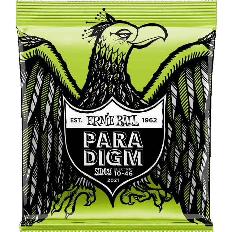 Ernie Ball Paradigm Electric Guitar String Set - 10-46 Regular Slinky 2021