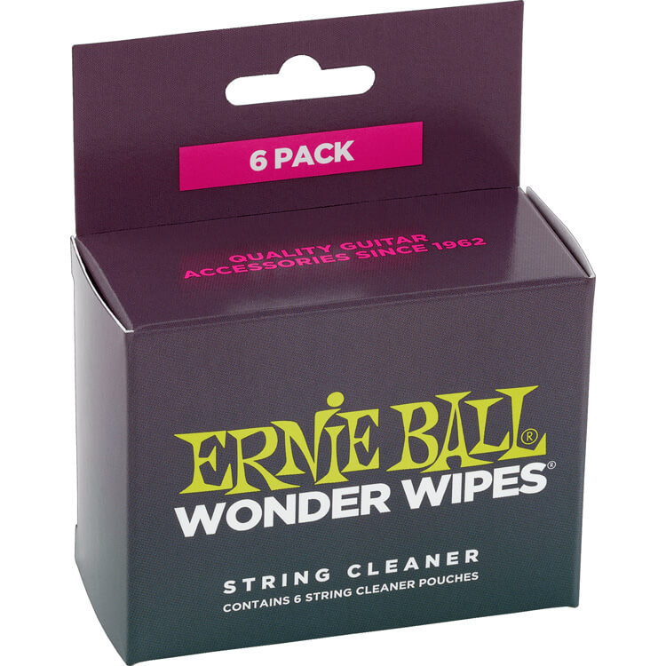 Ernie Ball Wonder Wipes String Cleaner Pads