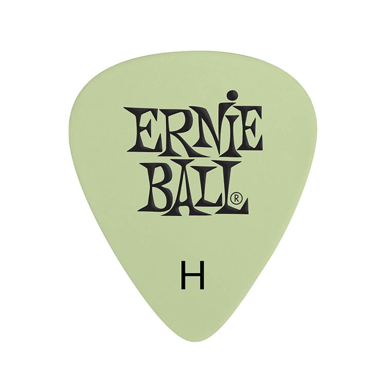 Ernie Ball Cellulose Guitar Picks - .94mm Heavy Super Glow bag of 12