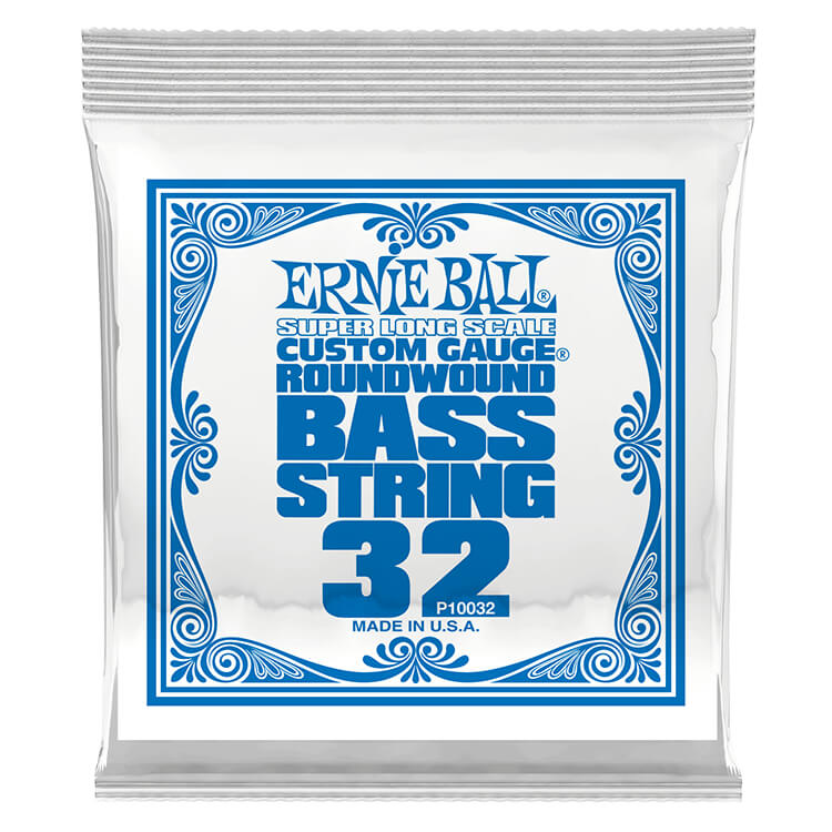 Ernie Ball Nickel Wound Slinky Electric Bass Single String - Super Long Scale .032