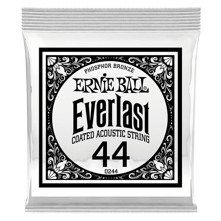 Ernie Ball Everlast Coated Phosphor Bronze Acoustic Guitar Single String .044w