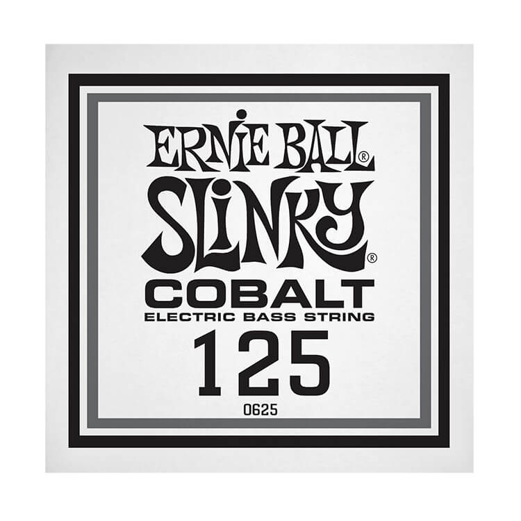 Ernie Ball Slinky Cobalt Wound Electric Bass Single String - Long Scale .125