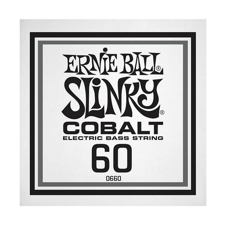 Ernie Ball Slinky Cobalt Wound Electric Bass Single String - Long Scale .060