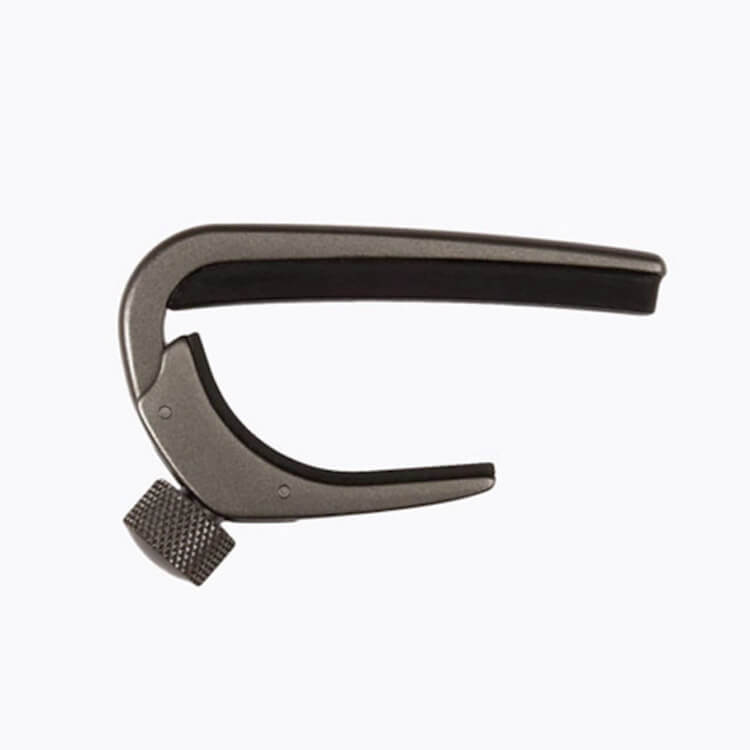 D'Addario PW-CP-02MG NS Guitar Capo Pro in Metallic Grey