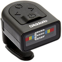 D'Addario Micro Headstock Chromatic Tuner - Full Color Display Updated Buttons