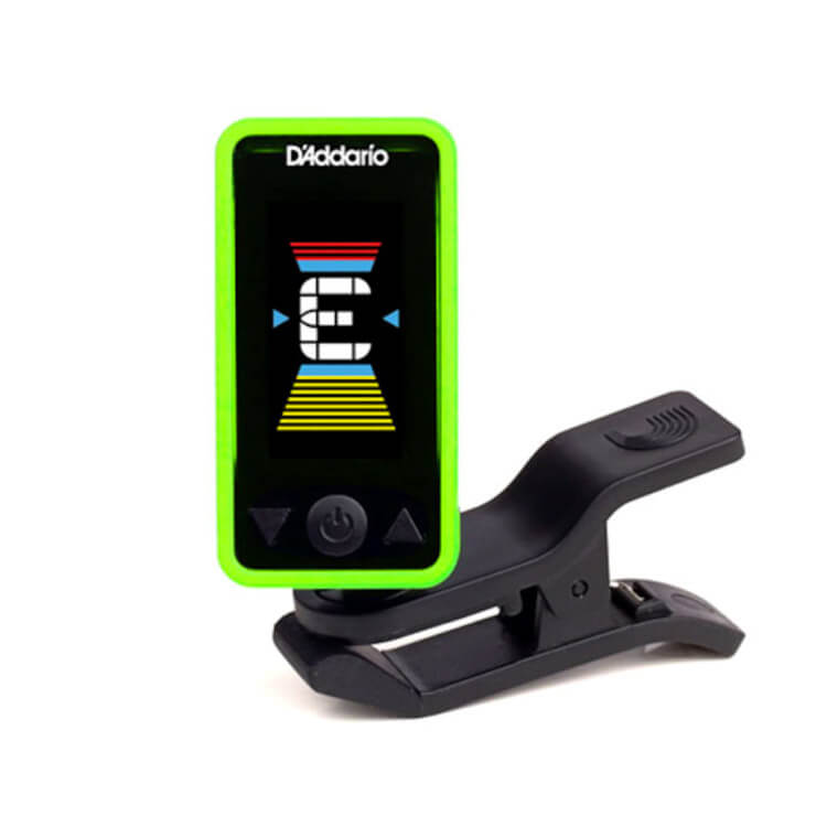 D'Addario PW-CT-17GN Eclipse Headstock Tuner in Green