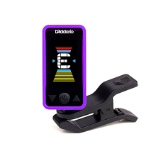 D'Addario PW-CT-17PR Eclipse Headstock Tuner in Purple