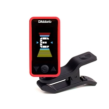 D'Addario PW-CT-17RD Eclipse Headstock Tuner in Red