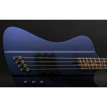 Dingwall D-Bird Standard 4-String Blue to Purple Colorshift Matte Electric Bass w/ Gig Bag