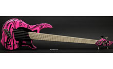 Dingwall NG Pink Swirl Limited Edition Electric Bass w/ Gig Bag