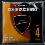 Dingwall Nickel Plated Steel Medium Scale Multi-Scale Length - 4-String 45-105
