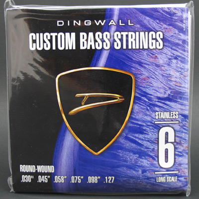Dingwall Stainless Steel Long Scale Multi-Scale Length - 6-String 30-127