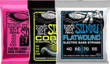 Ernie Ball Electric Bass Strings