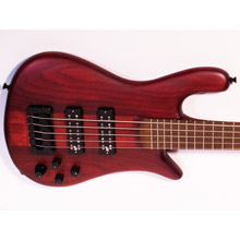 Spector USA Series Forte 5-String Black Cherry Electric Bass Forte5-104