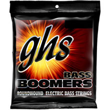 GHS Bass Boomers Nickel Wound Bass String Set Medium Scale - 4-String 45-100 Medium-Light 3140
