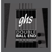 GHS Double Ball End Stainless Steel Double Ball End Bass Strings - 5-String 40-126 5L-DBB
