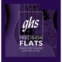 GHS Precision Flatwound Bass Single String Long-Plus Scale - .028 FB28