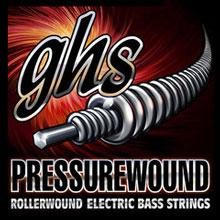 GHS Pressurewound Nickel-Iron Bass Single String Long Scale - .028 PWB28