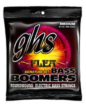 GHS Bass Boomers Nickel Wound Bass String Set Long Scale - 4-String 45-105 Flea Signature M3045F