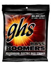 GHS Bass Boomers Nickel Wound Bass String Set Long Scale - 4-String 40-095 Light L3045
