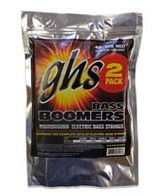 GHS Bass Boomers Nickel Wound Bass String Set Long Scale - 2-Pack 4-String 45-105 M30452_PACK
