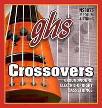 GHS Crossovers Alloy Ground Wound Crossovers Electric Upright Bass Strings - 5-String 47-127