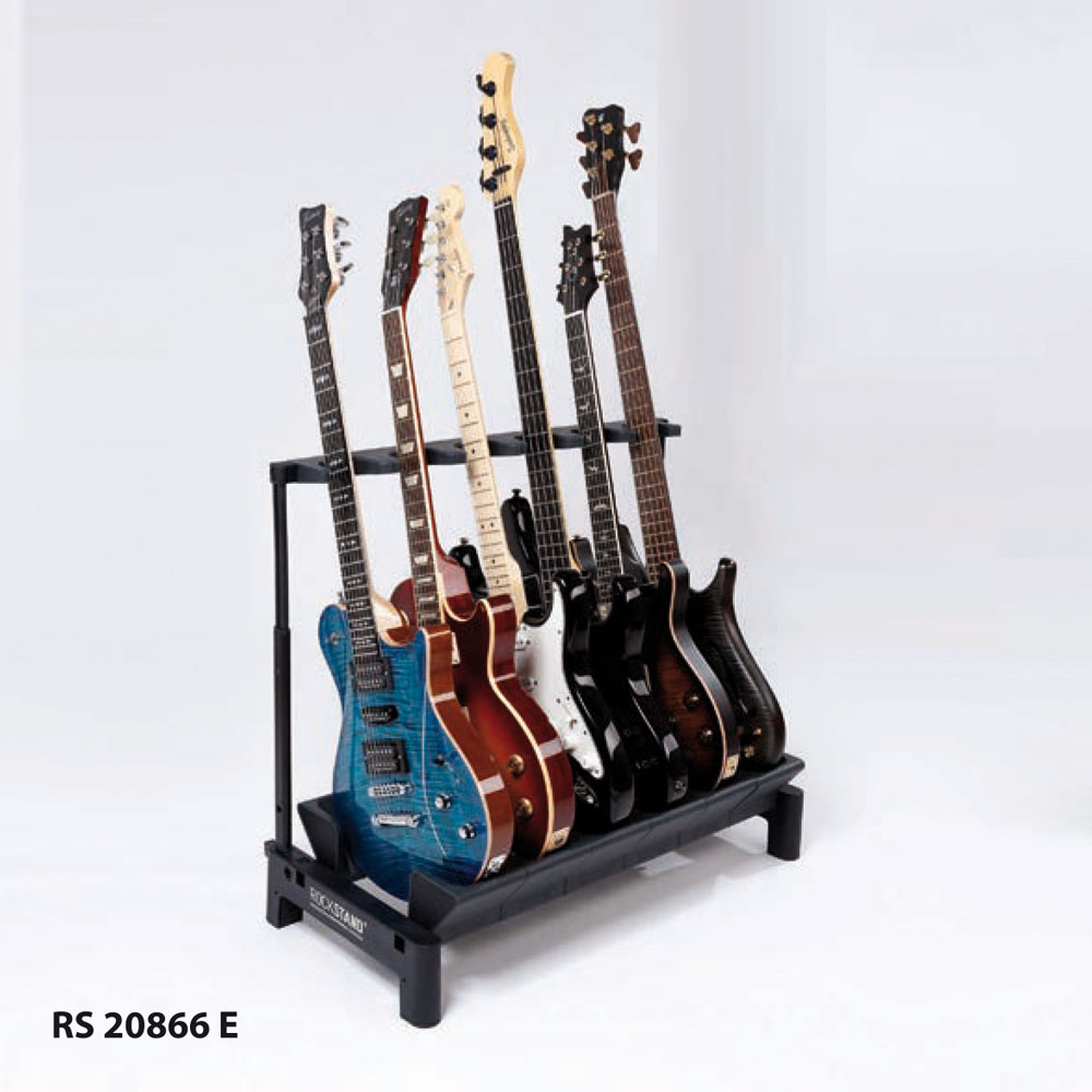 RockStand Modular Multiple Stand (6E) - Holds 6 Electric Guitars / Basses RS 20866 E