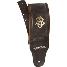 Spector Bassman Bass Strap - Brown Leather
