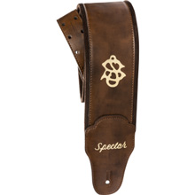 Spector Bassman Bass Strap - Brown Vegan-Leather