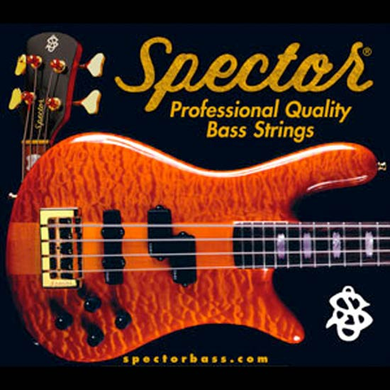 Spector Nickel Plated Steel Bass String Set Long Scale - 5-String 45-130T STNI45130