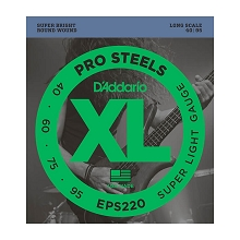 d 39 addario prosteels stainless steel electric bass string sets from fret nation. Black Bedroom Furniture Sets. Home Design Ideas