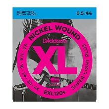 D'Addario XL Nickel Wound Electric Guitar String Set 09.5-44 Super Light Plus EXL120+
