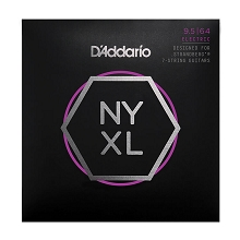 D'Addario NYXL Nickel Wound Guitar String Set 7-String 09.5-64 Multi-Scale Strandberg NYXL09564SB