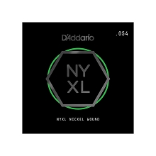 D'Addario NYXL Nickel Wound Single Electric Guitar String .054w