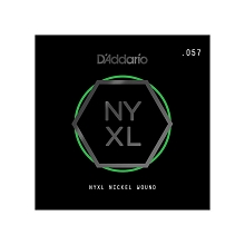 D'Addario NYXL Nickel Wound Single Electric Guitar String .057w