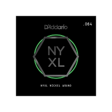 D'Addario NYXL Nickel Wound Single Electric Guitar String .064w