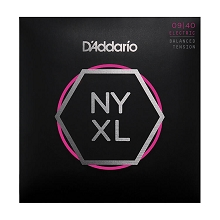 D'Addario NYXL Nickel Wound Guitar String Set 09-40 Balanced Tension NYXL0940BT