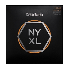 D'Addario NYXL Nickel Wound Guitar String Set 10-46 Balanced Tension 10-46