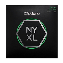 D'Addario NYXL Nickel Wound Bass String Set Long Scale - 4-String 40-095 Super Light NYXL4095