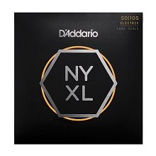 D'Addario NYXL Nickel Wound Bass String Set Long Scale - 4-String 50-105 Medium NYXL50105