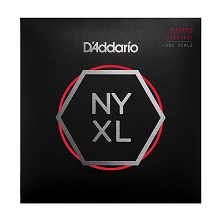 D'Addario NYXL Nickel Wound Bass String Set Long Scale - 4-String 55-110 Heavy NYXL55110