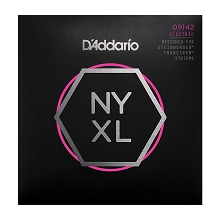 D'Addario NYXL Nickel Wound Guitar String Set Double Ball End 09-42 Super Light NYXLS0942
