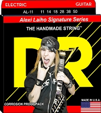 DR Alexi Laiho StringLife Treated Electric Guitar String Set - 11-50 Heavy AL-11