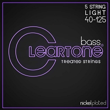 Cleartone EMP Treated Nickel Plated Steel Electric Bass String Set 5-String 40-125 Light 6440-5