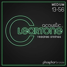 Cleartone EMP Treated Phosphor Bronze Acoustic Guitar String Set 13-56 Medium 7413
