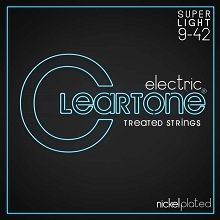 Cleartone EMP Treated Nickel Plated Steel Electric Guitar String Set 9-42 9409